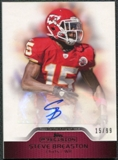 2011 Topps Precision Autographs Red #PCVASB Steve Breaston Autograph /99