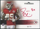 2011 Topps Precision Rookie Autographs Red Ink #107 Jonathan Baldwin Autograph /75