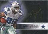2011 Topps Precision Rookie Autographs Gold Ink #119 DeMarco Murray Autograph /50