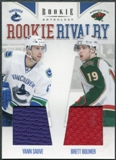 2011/12 Rookie Anthology Rookie Rivalry Dual Jerseys #26 Yann Sauve Brett Bulmer