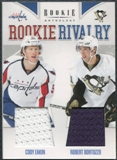 2011/12 Panini Rookie Anthology Rookie Rivalry Dual Jerseys #45 Cody Eakin/Robert Bortuzzo