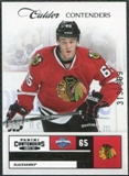 2011/12 Panini Contenders #261 Andrew Shaw /999
