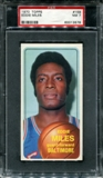 1970/71 Topps Basketball #159 Eddie Miles PSA 7 (NM) *3578