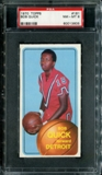 1970/71 Topps Basketball #161 Bob Quick PSA 8 (NM-MT) *3605