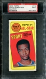 1970/71 Topps Basketball #114 Oscar Robertson All Star PSA 7 (NM) *3633