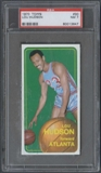 1970/71 Topps Basketball #30 Lou Hudson PSA 7 (NM) *3647