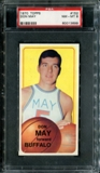 1970/71 Topps Basketball #152 Don May PSA 8 (NM-MT) *3699