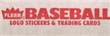 1989 Fleer Baseball Factory Set