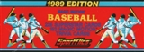 1989 Sportflics Baseball Factory Set