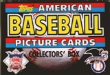 1988 Topps American Baseball Collectors Set