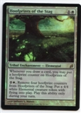 Magic the Gathering Lorwyn Single Hoofprints of the Stag Foil - SLIGHT PLAY (SP)