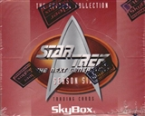 Star Trek: The Next Generation Season Six 18-Pack Box (1996 Skybox)