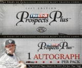 2007 TriStar Prospects Plus Baseball Hobby Box