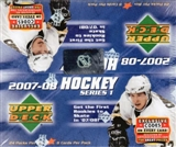 2007/08 Upper Deck Series 1 Hockey 24 Pack Box