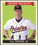 2007 Upper Deck Goudey Sport Royalty #CR Cal Ripken Jr.