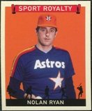 2007 Upper Deck Goudey Sport Royalty #NR Nolan Ryan
