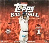 2008 Topps Series 1 Baseball Jumbo Box