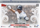 2008 Topps Moments & Milestones Baseball Hobby Box