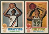1973/74 Topps Basketball Complete Set (VG-EX)
