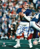 "Jim Kelly Autographed Buffalo Bills 8x10 Photograph w/""HOF 02"" Inscription (Dave & Adams COA)"