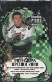 2000 Press Pass Optima Racing Hobby Box