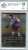 2006/07 Upper Deck Black Diamond #206 Paul Stastny Rookie Card BCCG 10