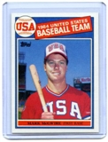 1985 Topps Baseball #401 Mark McGwire Rookie Card (NM or Better)