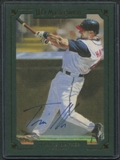2007 Upper Deck UD Masterpieces 5x7 Box Topper Signatures #MP7 Travis Hafner Autograph
