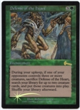 Magic the Gathering Urza's Legacy Single Defense of the Heart Foil
