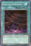 Yu-Gi-Oh Gladiator's Assault Single Veil of Darkness Secret Rare - 1st Edition