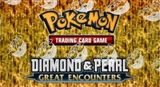 Pokemon Diamond & Pearl Great Encounters Theme Deck Box