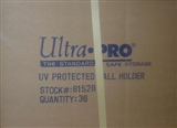Ultra Pro UV Protected Baseball Holder 36-Count Case