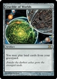 Magic the Gathering 10th Edition Single Crucible of Worlds - SLIGHT PLAY (SP)