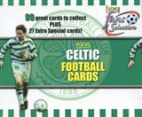 1999 Trade Cards Celtic Soccer Hobby Box