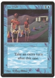 Magic the Gathering Beta Single Time Walk UNPLAYED (NM/MT)
