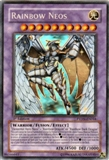 Yu-Gi-Oh Phantom Darkness Single Rainbow Neos Ghost Rare