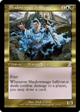 Magic the Gathering Odyssey Single Shadowmage Infiltrator UNPLAYED (NM/MT)