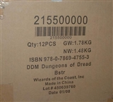 WOTC Dungeons & Dragons Miniatures Dungeons of Dread Booster Case (12 ct.) 21