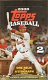 2008 Topps Series 2 Baseball Hobby Box