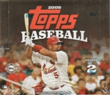 2008 Topps Series 2 Baseball Jumbo Box
