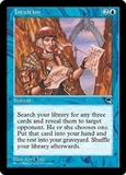 Magic the Gathering Tempest Single Intuition UNPLAYED (NM/MT)