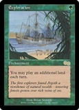 Magic the Gathering Urza's Saga Single Exploration - MODERATE PLAY (MP)