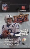 2008 Upper Deck Football Hobby Box