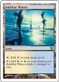 Magic the Gathering 9th Edition Single Adarkar Wastes FOIL
