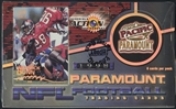 1998 Pacific Paramount Football Hobby Box