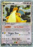 Pokemon Dragon Single Dragonite ex 90/97