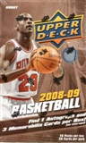 2008/09 Upper Deck Basketball Hobby Box