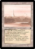 Magic the Gathering Legends Single Karakas - MODERATE PLAY (MP)