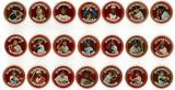 1964 Topps Coins Baseball Partial Set 41 Coins