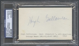 Hugh Gallarneau Autograph (Index Card) PSA/DNA Certified *6946